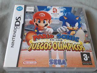 mario y Sonic juegos olimpicos