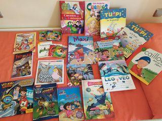 Colección de libros para bebés y niños