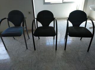 3 sillas de oficina