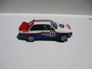 BMW M3 1/32 SCALEXTRIC ALTAYA CON 4 LLANTAS EXIN