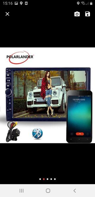 radio pantalla táctil de coche