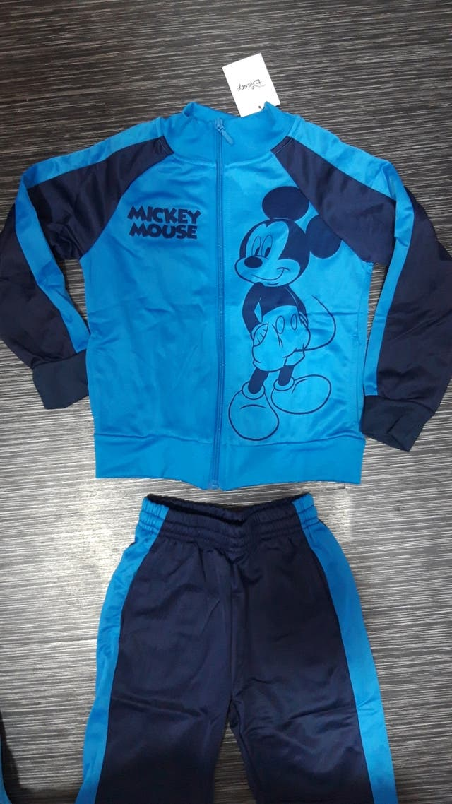 Chandal Nuevo Disney Mickey Mouse 5 - 6 años.