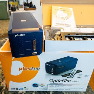Escanner Plustek 8100