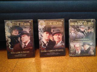 DVD s Sherlock Holmes NUEVOS PRECINTADOS SIN ABRIR
