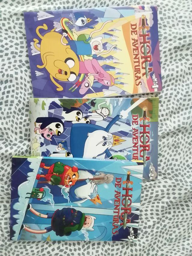comics de hora de aventuras