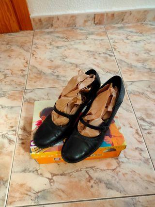 Zapatos negros vintage