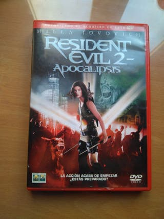 DVD Resident Evil 2 Apocalipsis