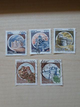 Sellos Castillos de Italia