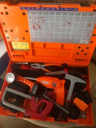 Lote de juguetes de manitas herramientas.