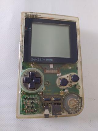 Game boy pocket transparente