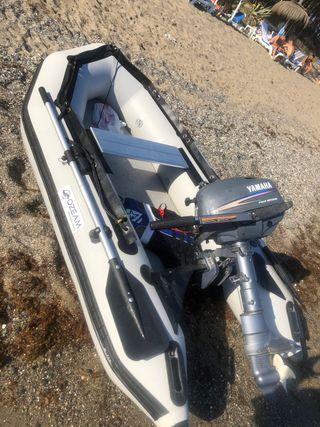 Sodiac 2,49 y motor Yamaha 4cv