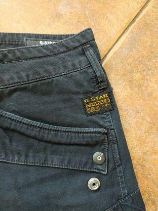 falda tejana negra g Star talla 38
