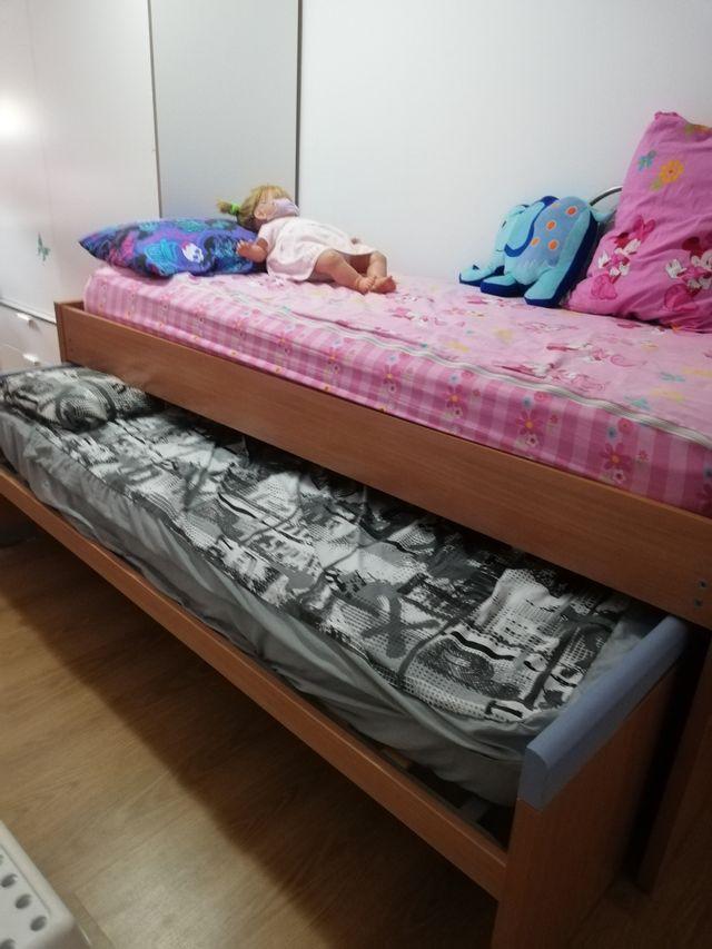 cama doble+escritorio