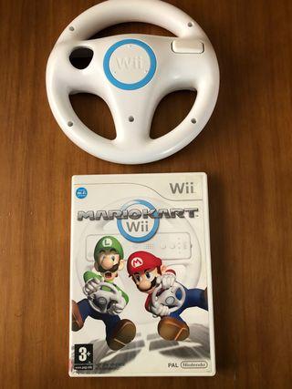 Mario kart wii y mando