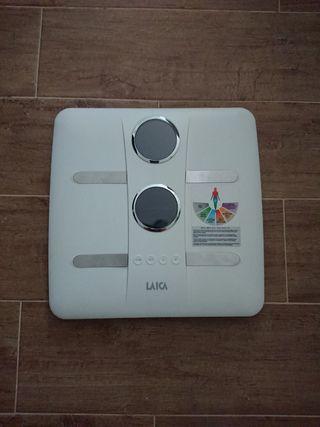 Báscula de baño, peso y composición corporal Laica
