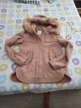 abrigo rosa del cya