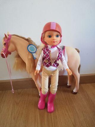 caballo y nanci
