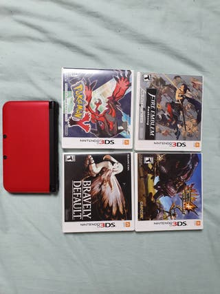 Nintendo 3DS XL and games (USA Version)