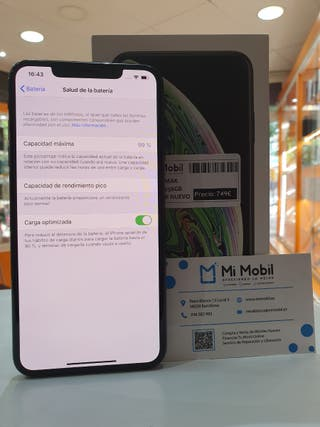 IPHONE XS MAX 256GB - SEMI NUEVO
