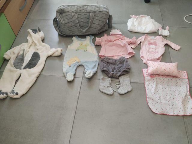 Ropa bebé para muñecas