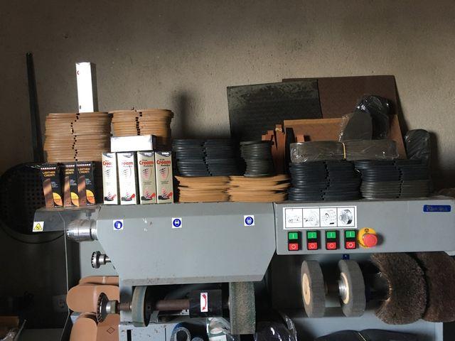 Máquina reparación calzado