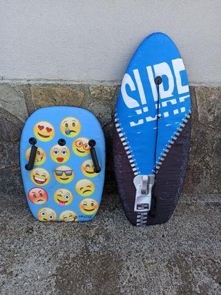 2 Tablas surf niños