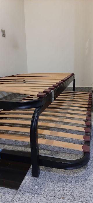 Somier canguro de láminas (90 x 190cm)