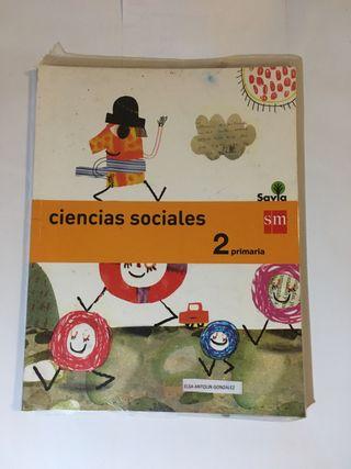 Libro de ciencias sociales 2 primaria SM