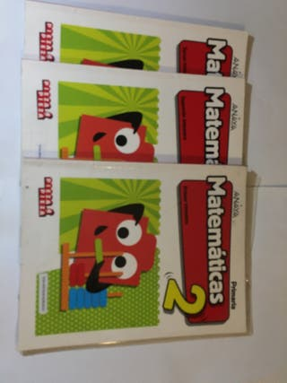 Libros de matemáticas 2 primaria