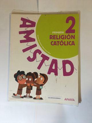 Libro de religión 2 primaria Anaya