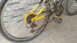 """Bicicleta montaña Bottecchia 24"""""""