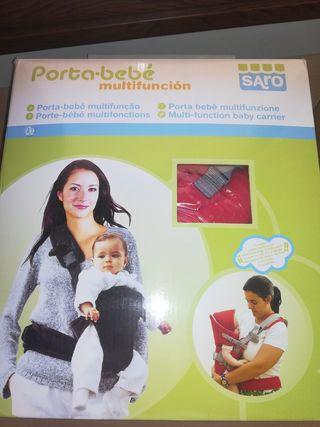 Porta bebé Marca Saro.