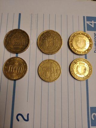 monedas,de,centimos ,de colocionista,ahora,