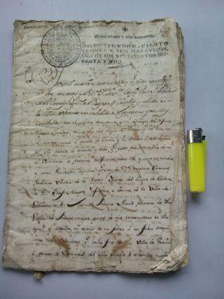 TESTAMENTO DE 1791 , 28 páginas