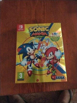 Sonic Mania Plus para Nintendo switch