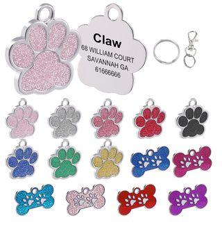 Chapa Para Mascotas Con Grabado de Identificación
