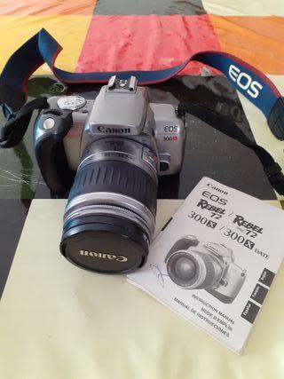 cámara de fotos analógica