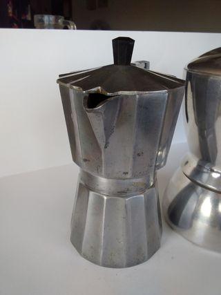Cafeteras de metal