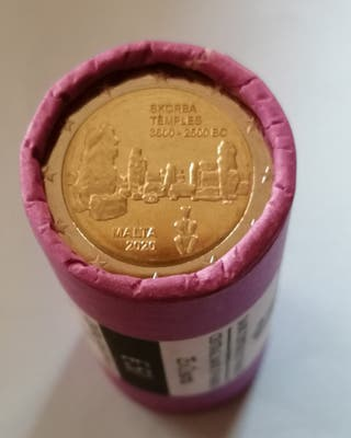 moneda 2€ conmemorativa Malta 2020