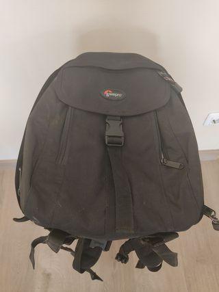 mochila para cámara fotográfica lowepro