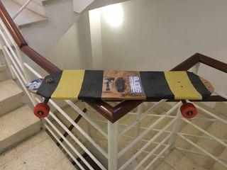 Longboard lush con ejes de previsión Hellium