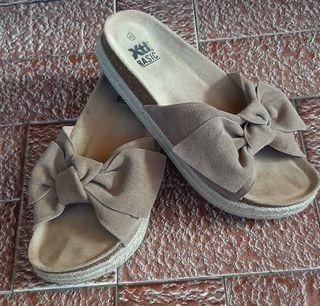 preciosas sandalias plataforma