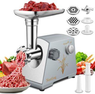 Picadora Carne Eléctrica Embutidora de Salchichas