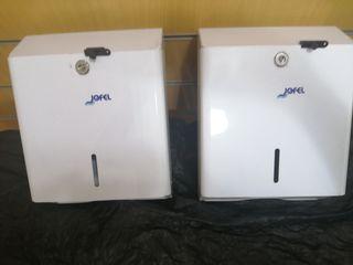 2 dispensadores de papel