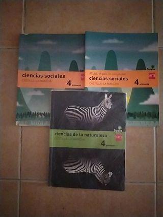 LIBROS DE CUARTO DE PRIMARIA SM