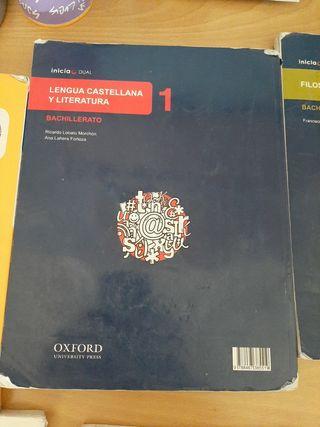 Lote libros texto 1°Bachillerato Simone Veil