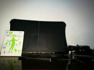 consola wii+tabla +wii fit juego+mandos