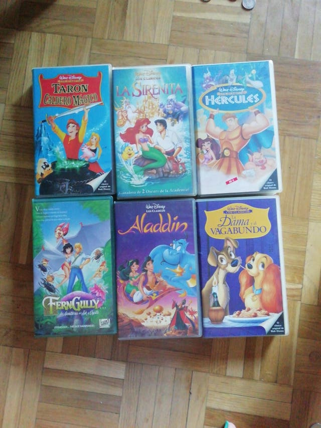 VHS Disney. .