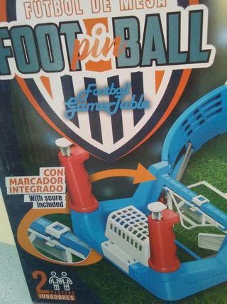 juego foot pinball