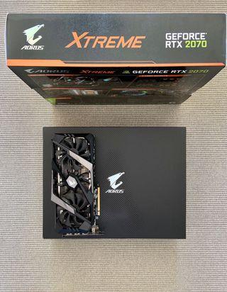Tarjeta gráfica Gigabyte Aorus GeForce RTX 2070